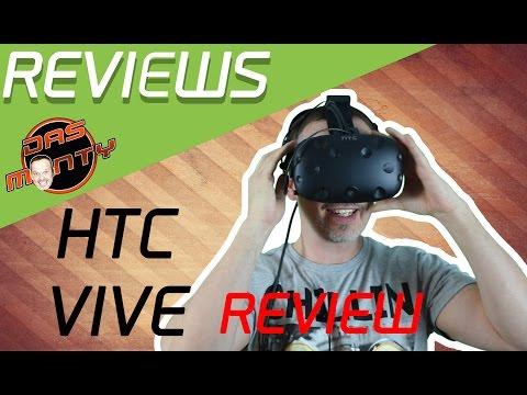 HTC Vive Test Review Aufbau und die Spiele - Virtual-Reality besser als Oculus Rift ? | Deutsch