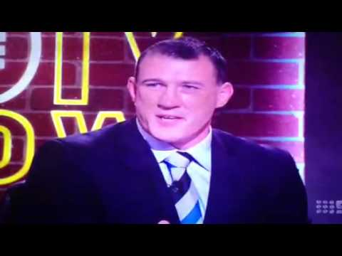 Gordon Tallis v Paul Gallen on the footy show