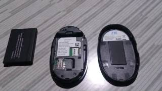 Reliance 4G Wi-Pod LTE insertion of sim card and battery