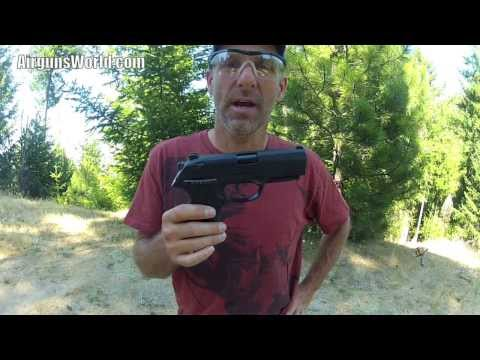 Beretta PX4 Storm Pellet Pistol Review with Chrony and Destruction Test