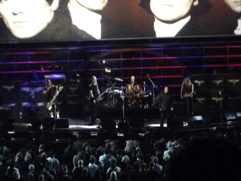 Ray Davies LIVE set w/ Metallica 25th Anniv Rock n Roll Concert Madison Square Garden 10/30