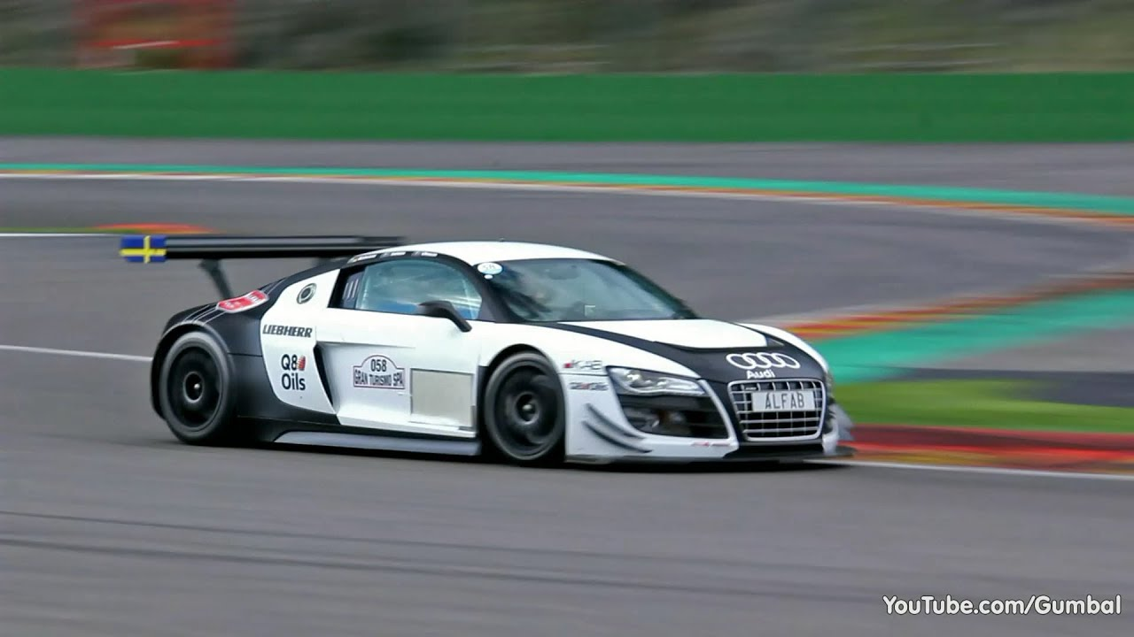 Audi R8 LMS Ultra GT3 - LOUD Sounds!! - YouTube