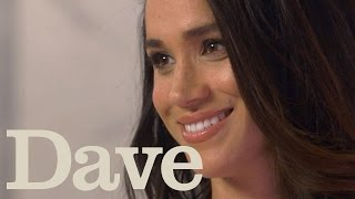 Meghan Markle Rapid Fire Questions | Suits Season 5 | Dave