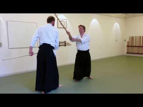 Jo 1 vs Bokken - Aikido Image 1