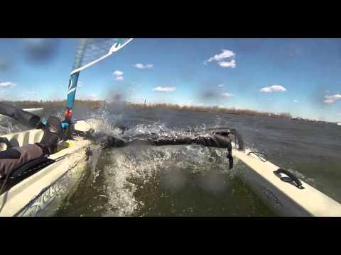 Hobie Adventure Island Fast Sail - Delaware River Port of Philadelphia