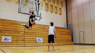 Jordan Kilganon: World's BEST Dunker!   On Point Basketball