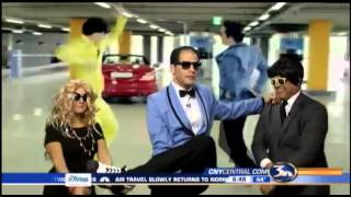 Peter, Lisa and Brandon go Gangnam Style for Halloween