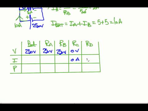 Ejercicio Resuelto Circuito Electrico Paralelo 2 resistencias con cortocircuito