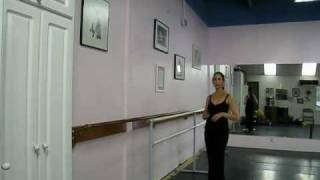 Preparing and Finishing (ballet enchainment or combinations) in Ballet Class