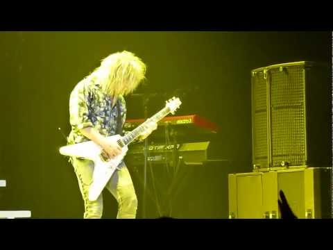 Poison CC Deville Guitar Solo in Hamilton Ontario July 17 2012