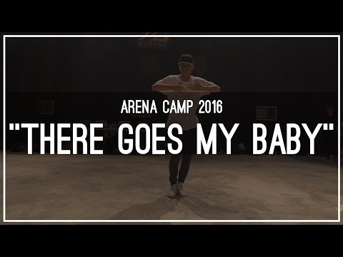 """Keone Madrid """"There Goes My Baby"""" Choreography 