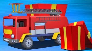 Fire Truck | Kindergarten Nursery Rhymes | cartoon Video For Childrens by Kids Channel
