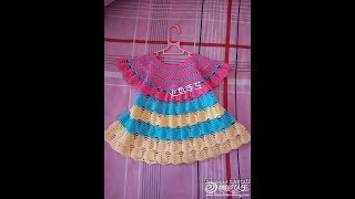 Crochet patterns| for |crochet baby dress| 2726