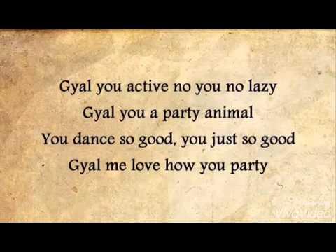 Charlie black-party animal (lyrics) full HD