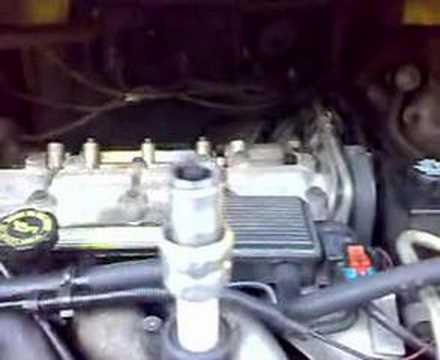 Pontiac Trans Sport 2.3L motor fix 1 Video
