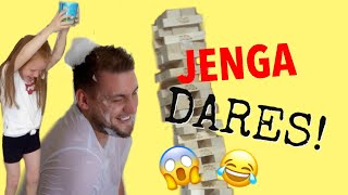 JENGA DARES FAMILY EDITION **EXTREMELY FUNNY**