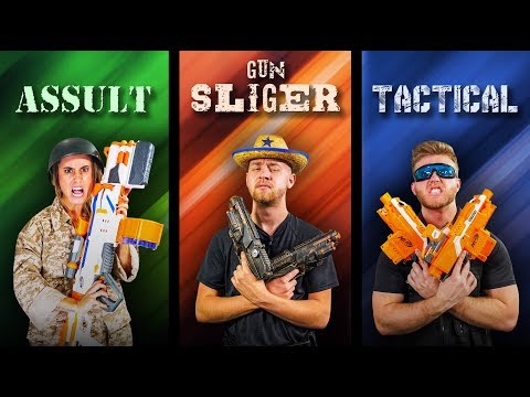 NERF Choose Your Class Challenge! [Ep. 2]