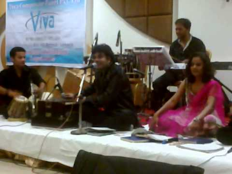 Rolling Jets Viva Group Ghazal Nite Chandi Jaisa Rang Hai Tera...