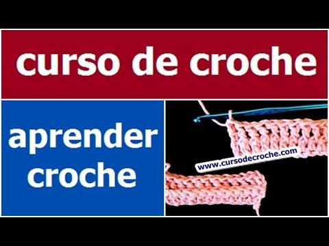 CROCHE AULA 11 PONTO ALTO RELÊVO PEGANDO PELA FRENTE (HD)