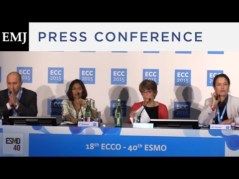 ECC 2015: News briefing chaired by Prof Martine Piccart