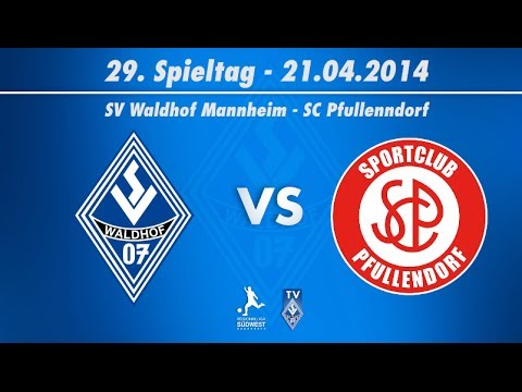 SV Waldhof Mannheim 07 vs. SC Pfullendorf  29. Spieltag 13/14