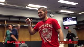 Khabib Nurmagomedov vs Pat Healy. Backstage Pass UFC 165. (Part 5)
