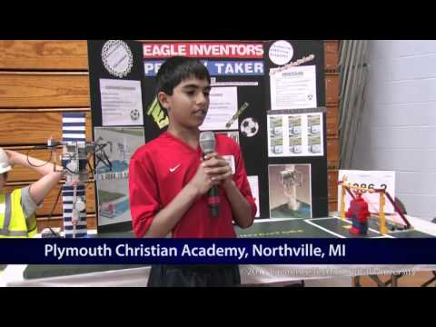 Junior Exhibition - Robofest MI Regional 2011.