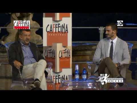 Fabio Massimo Splendore intervista Leonardo Bonucci - CAFFEINA CULTURA - Viterbo 2 luglio 2013