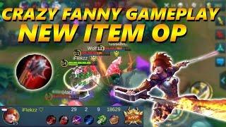 Mobile Legends: FANNY NEW ITEM OP HEAL - 29 KILLS GAMEPLAY!