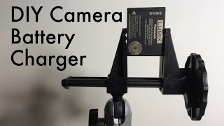 How to Make a Camera Battery Charger