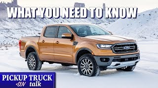 2019 Ford Ranger - Quick Pickup Highlights: Engine, Styling, Features