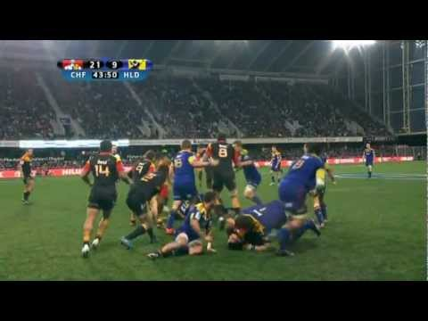 Sonny Bill Williams fight Chiefs vs Highlanders | Super Rugby Video Highlights 2012 - Sonny Bill Wil