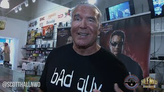 Scott Hall on Finn Balor, Ultimate Warrior, Sting, Mr Perfect & NXT