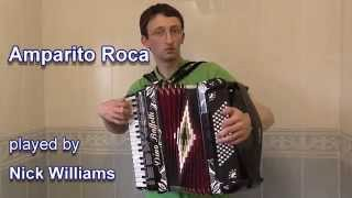 Amparito Roca - Piano Accordion Solo by Nick Williams