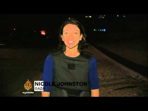 Loud Shelling Cuts Short Al Jazeera's Live Report From Gaza