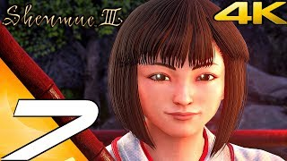 SHENMUE 3 - Gameplay Walkthrough Part 7 - Red Snakes Search (Full Game) 4K 60FPS
