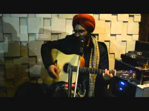 Rabbi Shergill - Tere Bin - Live - Cafe Oz Amritsar -  Unplugged...