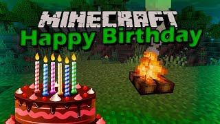 Minecraft День рождения Prizraka !!!