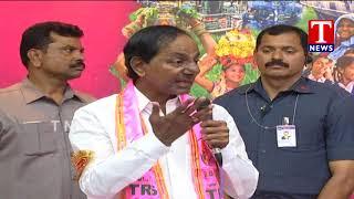 CM KCR Slams Oppositions | Ex Minister Danam Nagender Joins TRS Party  Telugu