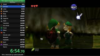 Ocarina of Time Glitchless Speedrun in 5:19:32