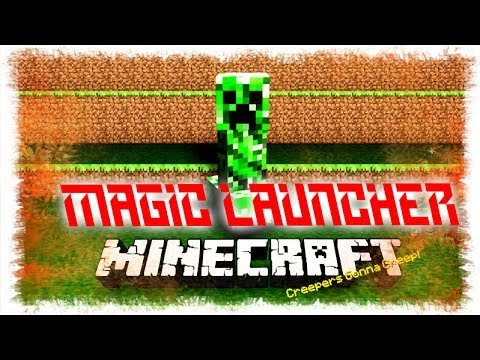 Descargar Minecraft + Magic Launcher [Todas las Versiones]