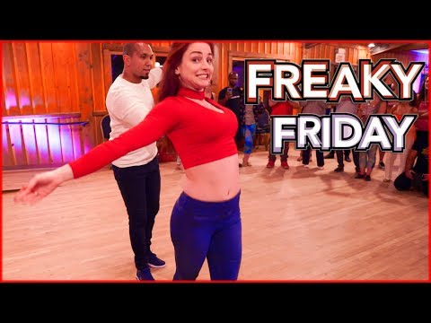Lil Dicky - Freaky Friday feat. Chris Brown | Zouk Dance | Kadu Pires & Larissa Thayane in Atlanta