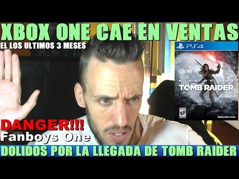 ¡¡¡LAS VENTAS DE XBOX ONE CAEN Y LOS FANBOYS ATACAN RISE OF THE TOMB RAIDER PARA PS4!!! - Hardmurdog
