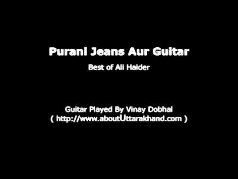 Purani Jeans Aur Guitar - Guitar Instrumental By Vinay Dobhal...
