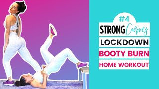 Dumbbell Only Booty Lift Home Workout (STRONG Curves Lock Down Program)