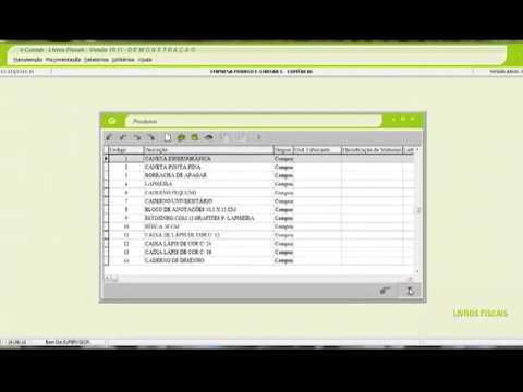 Configuração do sistema Fiscal e-Contab para exportação EFD ICMS IPI
