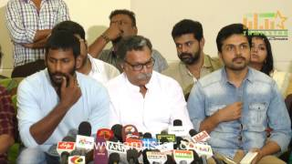 Nadigar Sangam Press Meet