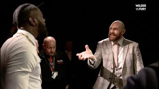 DEONTAY WILDER v TYSON FURY - *THE FULL & EXPLOSIVE* ROUND-TABLE HEAD TO HEAD (BT SPORT)