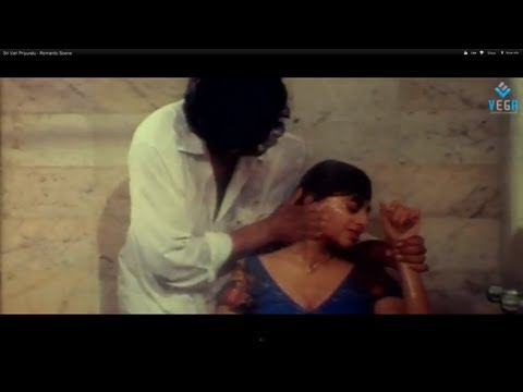 Vinod Kumar & Priya Raman Romantic Scene - Sri Vari Priyuralu...
