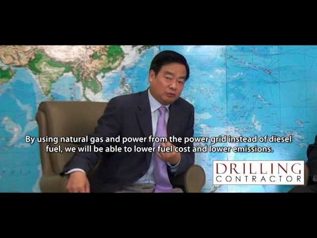 Exclusive video: Honghua Group taps shale gas, offshore rig markets